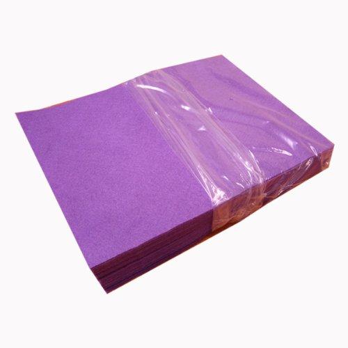 Acrylic Craft Felt Packages (25pcs/pack), Lavender