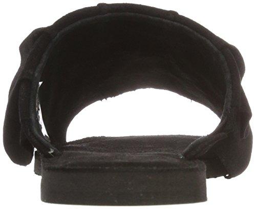 black 017 Aperta Donna Pavement Punta Nero Suede Maggie Sandali qnzYR