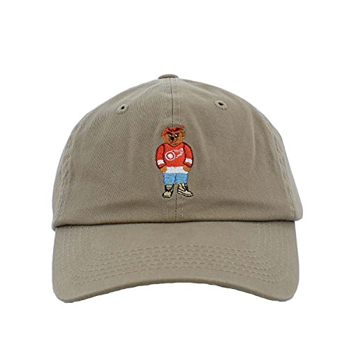 ANY MEMES Dad Hats (Pac Jersey Bear/Khaki) (Store Jersey Nyc)