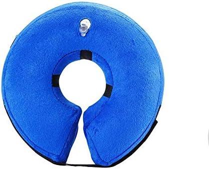 coil.c Cuello Protector Hinchable para Perros y Gatos, Ajustable ...