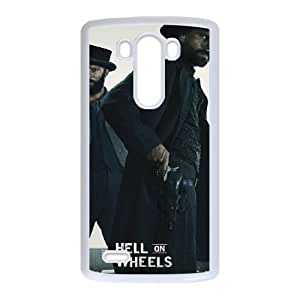 Hell on Wheels LG G3 Cell Phone Case White Customized gadgets z0p0z8-3631773