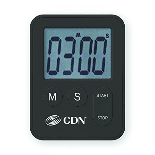 CDN TM28 BK Digital Minute Second