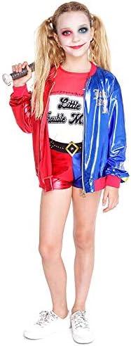 Disfraz Joker's Baby niña Infantil para Carnaval 7-9 Pantalón Corto (23511)