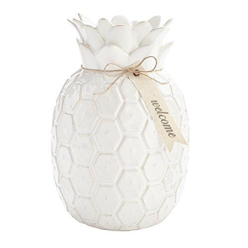 (Mud Pie Pineapple Ceramic Decorative Vase)