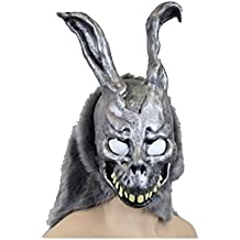 Donnie Darko Frank the Bunny Mask Latex Overhead with Fur Adult Costume
