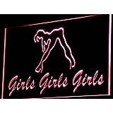 ADV PRO i767-r Girls Night Club Bar Beer Wine Neon Light Sign