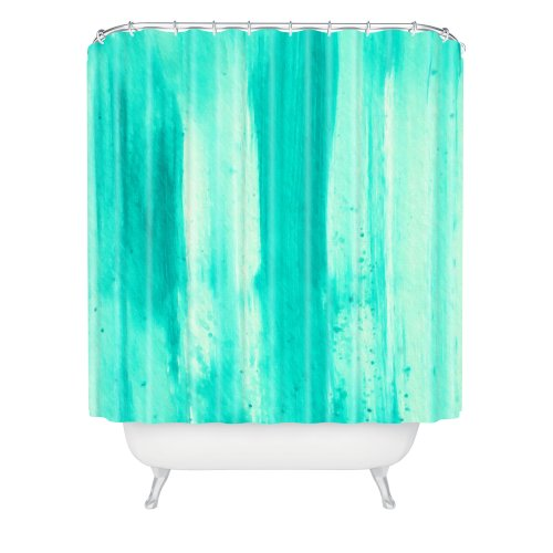Deny Designs Madart Inc. Modern Dance Aqua Passion Shower Curtain, 69'' x 72'' by Deny Designs