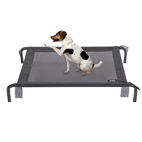 Elevated-Pet-Bed-with-Oxford-cloth-Perfect-for-Summer-Cooling-Pet-Bed-With-Knitted-Fabric