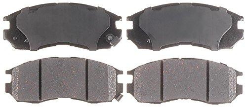 ACDelco 14D484CH Advantage Ceramic Front Disc Brake Pad Set ()
