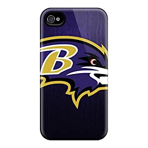 RichardBingley Iphone 6 Shock-Absorbing Hard Cell-phone Cases Custom High Resolution Baltimore Ravens Image [kAA10290JYPp]