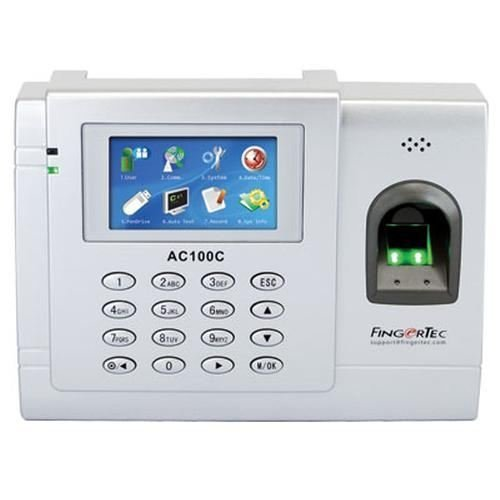 Fingertec Full Color Biometric Time Attendance System for 3000 Fingerprints - Fingertec AC-100C