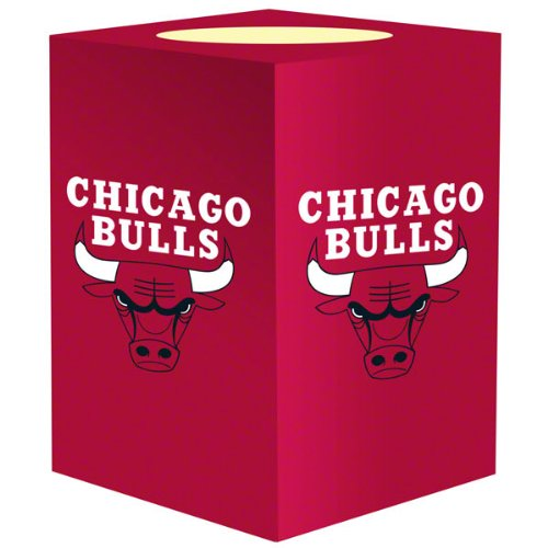 The Northwest Company NBA Chicago Bulls Flameless Candle (Chicago Bulls Room Decor)