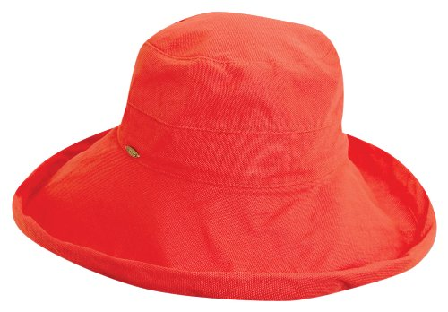 scala-womens-cotton-big-brim-hat-with-inner-drawstring-and-upf-50-rating-coral-one-size