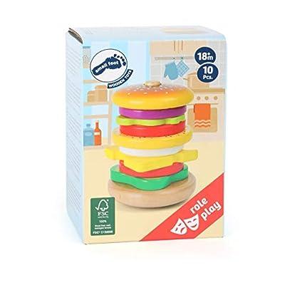 Legler - Stacking Hamburger: Toys & Games