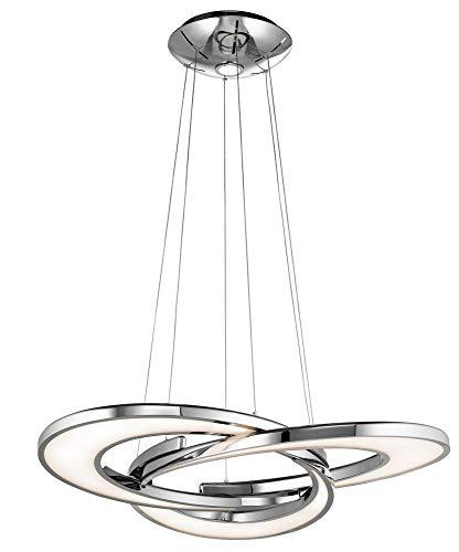 Elan 83620 Destiny Pendant Lighting, Chrome