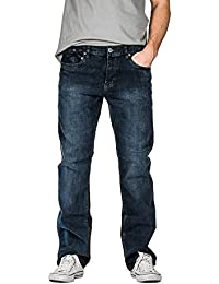 Suko Jeans for Men Comfort Fit Boot Cut Denim Jeans with Premium Stretch