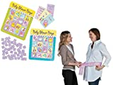 Baby Shower Game, Games For Baby Celebration - Bingo & How Big Is Momma's Belly, Set of 2