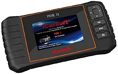 iCarsoft POR II is a professional and powerful vehicle fault diagnosis tool