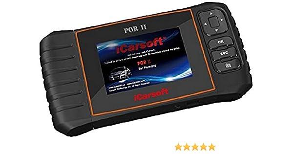 iCarsoft Por-II Porsche OBD-II escáner herramienta: Amazon.es: Coche y moto