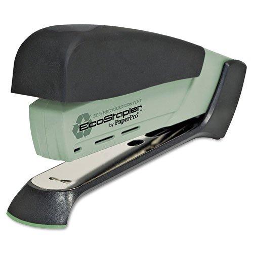 PaperPro : Desktop EcoStapler, 20 Sheet Capacity, Moss -:- Sold as 2 Packs of - 1 - / - Total of 2 Each by PaperPro