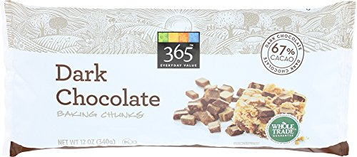 365 Everyday Value, Dark Chocolate Baking Chunks, 12 Ounce
