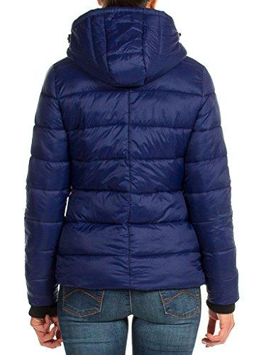 Bleu 460 Couleur 675 Femme Unie Longue Manche Blouson Pour Dark Carrera Taille Jeans Normale SnTHUqxqEO