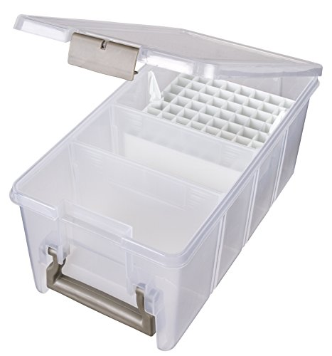 ArtBin Marker Storage Satchel with 1-Marker Tray and 2 Dividers; Clear Storage Container, 6934AB