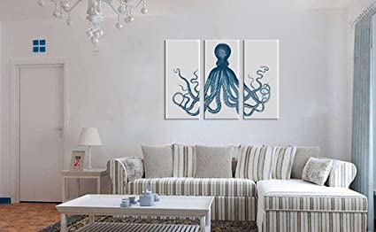 amazon com canvas print wall decor octopus canvas art octopus