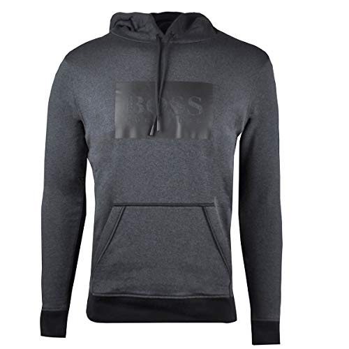 Hugo Boss Mens Heritage Sweatshirt Dark Grey 50392123 039 (Medium)