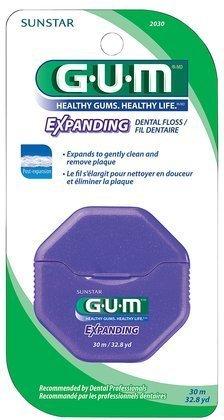 GUM expansion Floss-30 Mètres (Pack de 6)