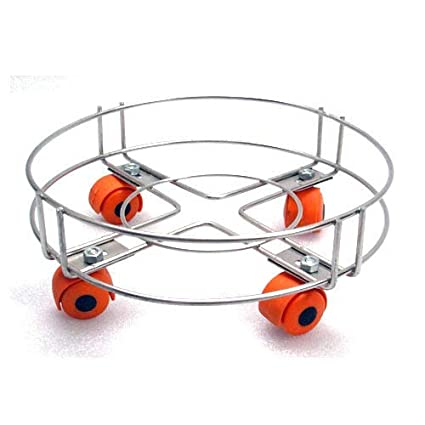 STARVIN Cylinder Trolley || With Wheels || Gas Trolly || LPG Cylinder Stand || Premium Quality || Easily Movable Trolley || P-01