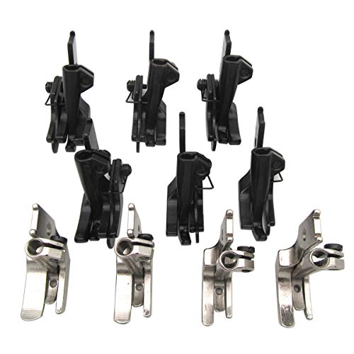 CKPSMS Brand - #KP-WF10 10SET FEET FIT for JUKI CONSEW Singer Brother Industrial Walking Foot Sewing Machine (KP-WF10) (Juki Lu 563 Walking Foot Industrial Sewing Machine)