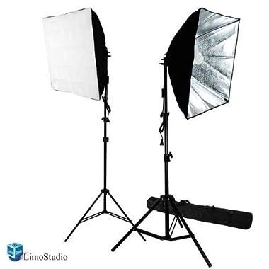 LimoStudio 700W Photography Softbox Light Lighting Kit Photo Equipment Soft Studio Light Softbox 24 X24 , AGG814