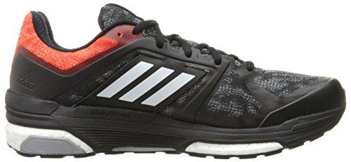 Adidas Performance Mens Supernova Sequence 8 Zwart / Wit / Vet Oranje