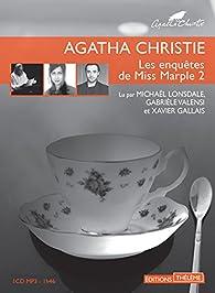 Les enquêtes de Miss Marple, tome 2 par Agatha Christie