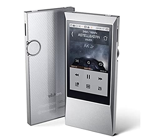 aiuto (iriver) High-resolution Audio Player Astell & Kern AK Jr 64GB Sleek Silver AKJR-64GB-SLV (Iriver Astell&kern Ak240)
