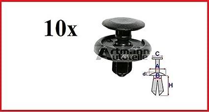 Artmann autoteile - Tacos, plástico tacos x10 toyota, suzuki, lexus b23143r