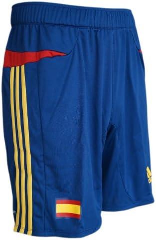 adidas FEF - Pantalones de hombre para entrenamiento de España, color azul Talla:3 - S - 44: Amazon.es: Deportes y aire libre