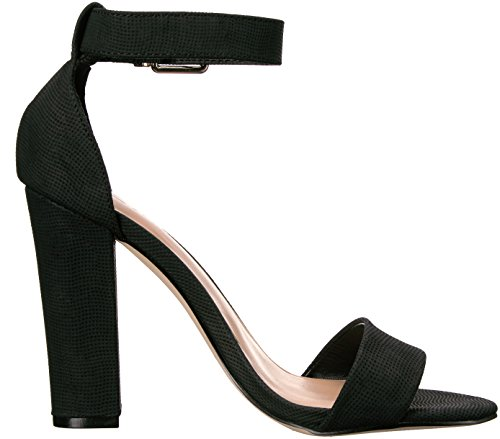 It Dress Spring Sandal Synthetic Black Arther Women's Call gnZx8AB8