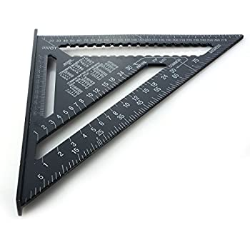 triangle ruler yuiop12 inch triangle ruler aluminum alloy triangle ruler speed square roofing. Black Bedroom Furniture Sets. Home Design Ideas