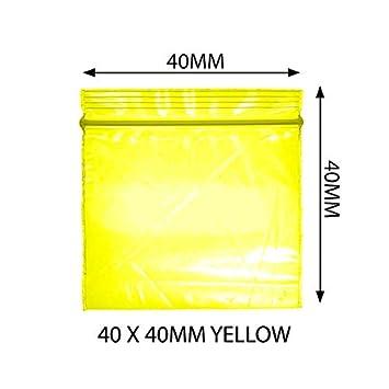 Bolsas de plástico pequeñas de 500 a 40 x 40 cm, con cierre ...