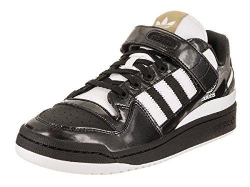 Adidas Mænds Forum Lo Originaler Sort / Hvid / Guld Metallic Afslappet Sko 9,5 Mænd Os