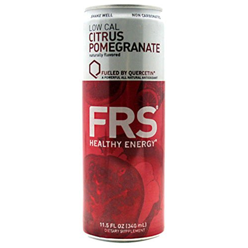 FRS Energy Drink Low Cal Citrus Pomegranate 12 cans-11.5 fl. (340 ml)