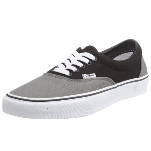 Vans Adult Era Core Classics, Pewter/Black size 5men/6.5women (Vans Cream Shoes)