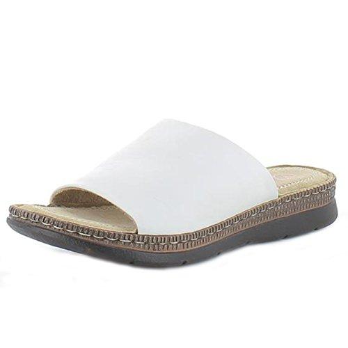 Sandals Black Leather White Feet Fizz Heavenly qBFHcwIEn