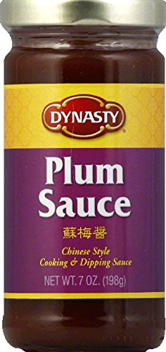 Dynasty Plum Sauce, 7 Ounce -- 6 per case. Sauce Concentrate
