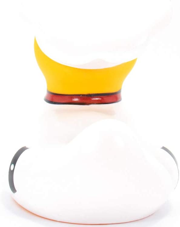Collectable Elegant Gift Ready PackagingBon appetit Child Safe Chef Rubber Duck Bath Toy by Bud Duck