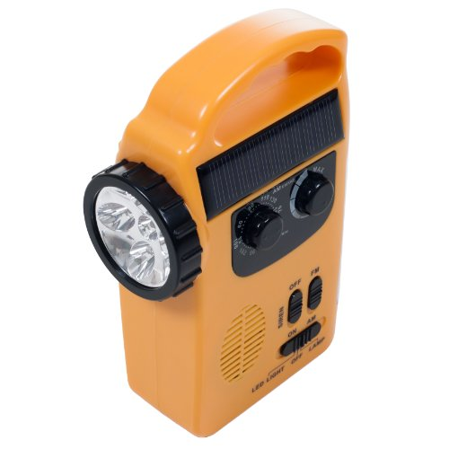 Stalwart 4 Power Supplies Radio and Siren Emergency Flashlight