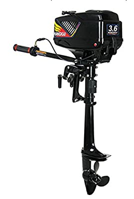 Outboard Motor 3.6 HP Inflatable Fishing Boat Engine 2 stroke