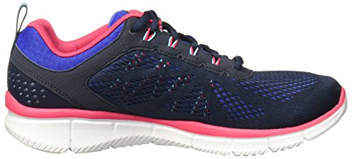 New nvbl Miestone 11897 Basse Sneakers Navy Skechers blue Donna x1wvqzqA